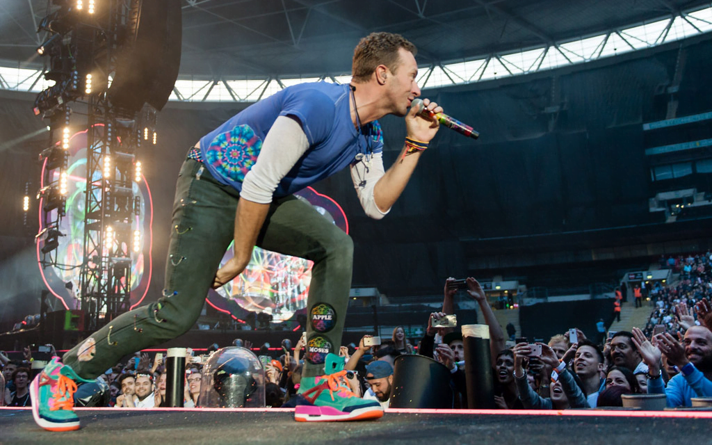 A Look at Some of the Incredible Sneakers Artists are Rockin' on Stage
