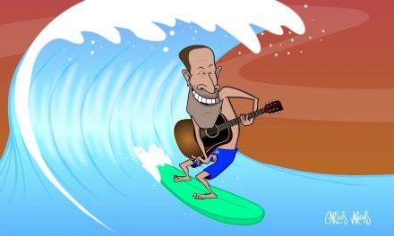 Artist Waves' Ocean Artist of the Year: Jack Johnson
