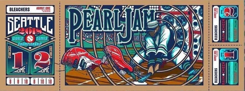 And Now The Starting Lineup For Pearl Jam at Safeco Field