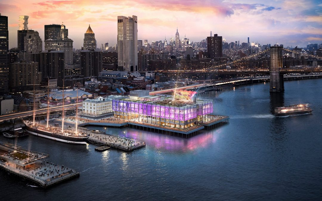 WOW — NYC's Newest Concert Venue Pier 17 Rooftop
