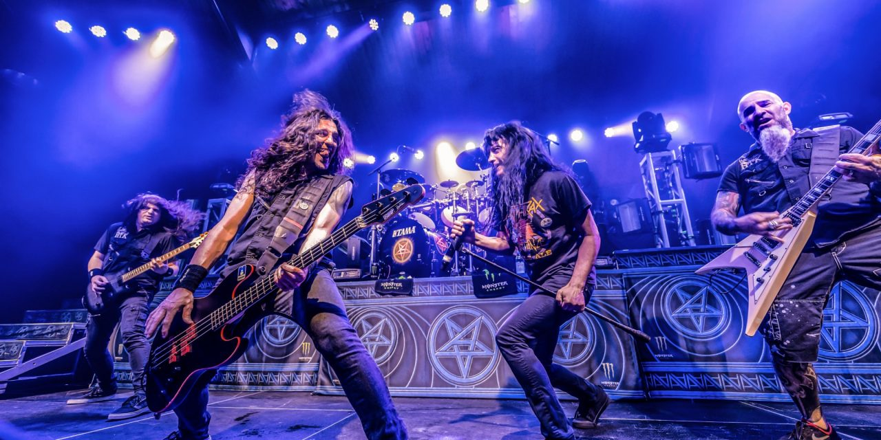 Anthrax Live In 10 Stunning Photos