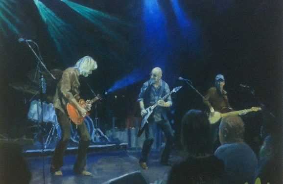 Pete Marsh: How I Paint Concerts