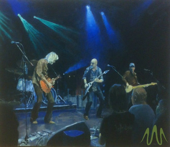 Pete Marsh: How I Paint Concerts