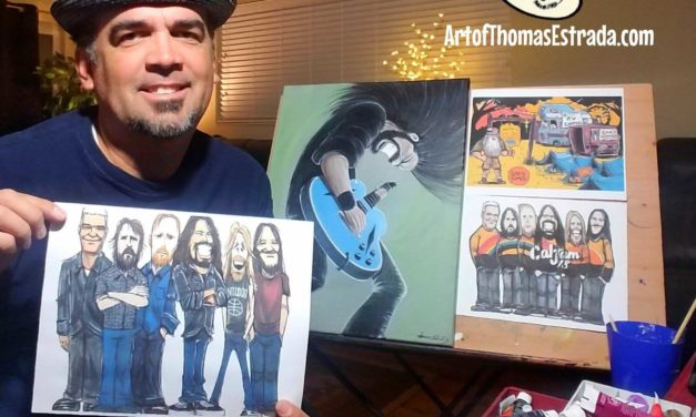 Thomas Estrada: Inside My Art – DreamWorks to Foo Fighters' Cal Jam