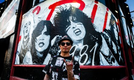 Painting Motley Crue's 'The Dirt' Mural with Robert Vargas