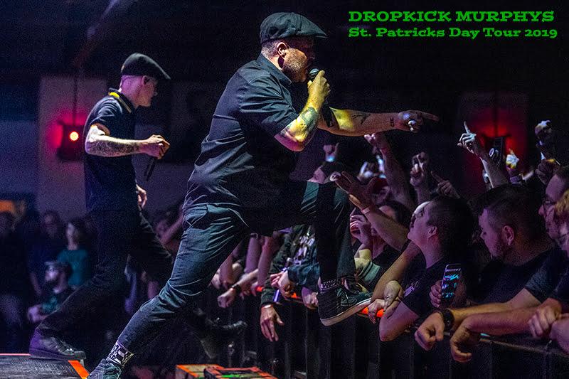 KO'd by Dropkick Murphys St. Patrick's Day Tour